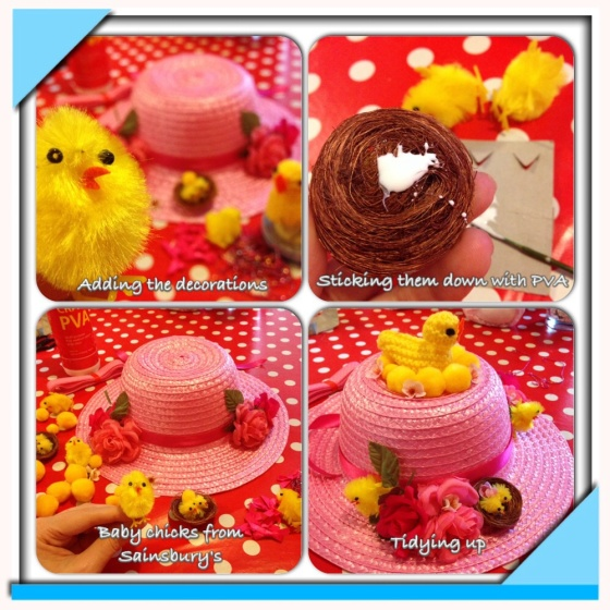 Easter Bonnet making 2