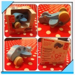 HAPE wooden toy plane