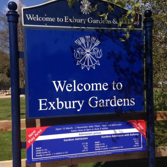 Exbury Gardens Entrance