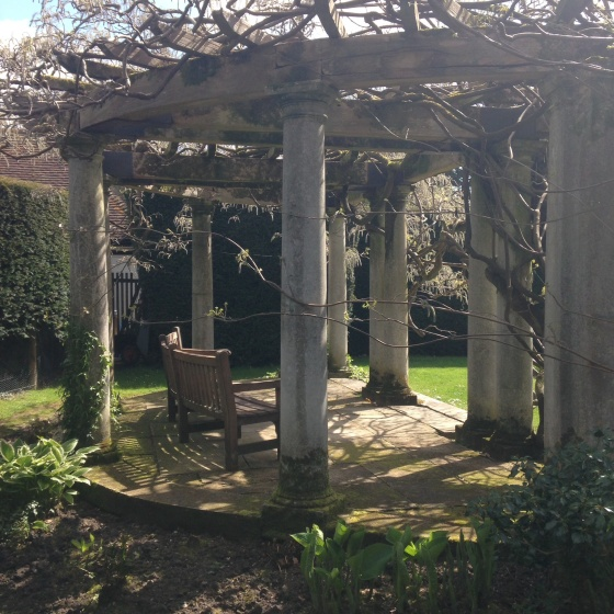 Exbury Sundial Garden