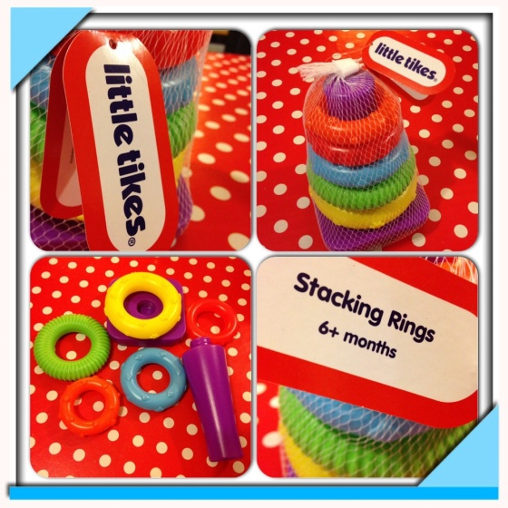 Little Tikes Stacking Rings