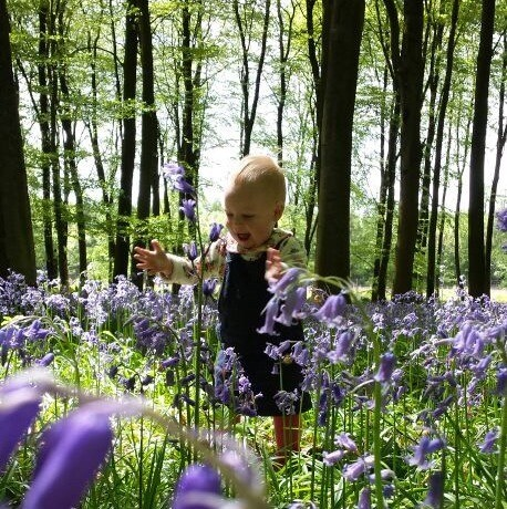 Running in Bluebells