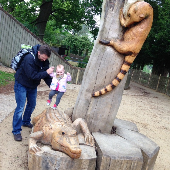 Climbing at Marwell