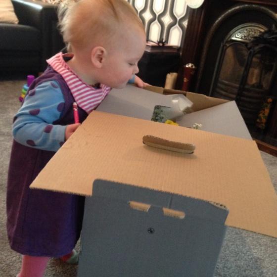 Peering in the box