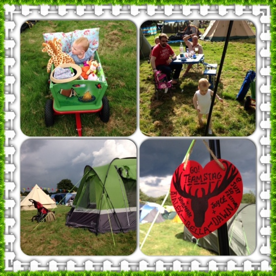 Camping at Just So Festival 2014