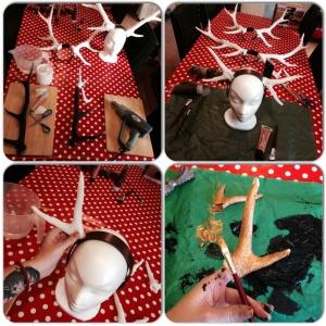 Making antlers 3
