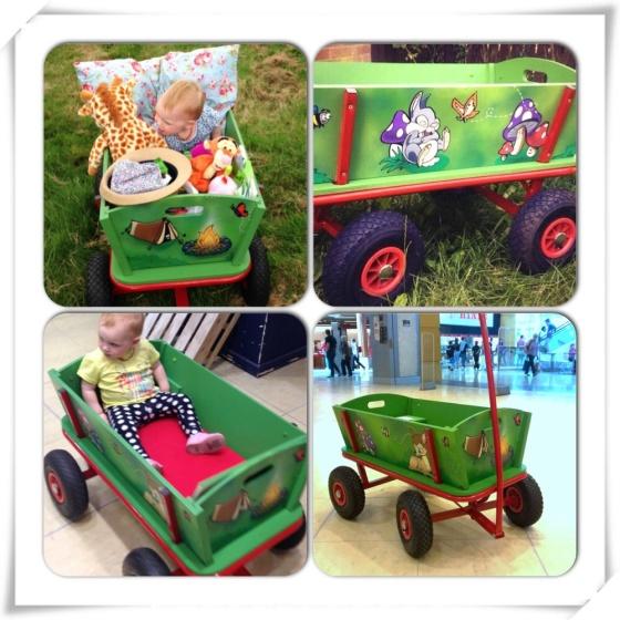 Funky children's festival cart