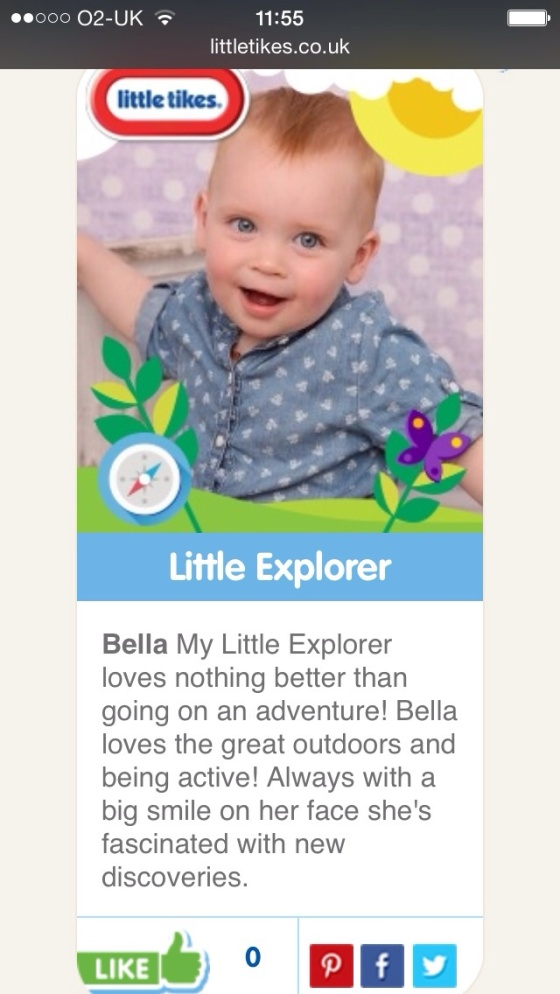 Little Tikes Tiny Tester Bella