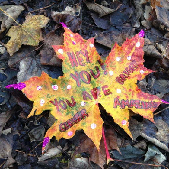 Leaf Love Note