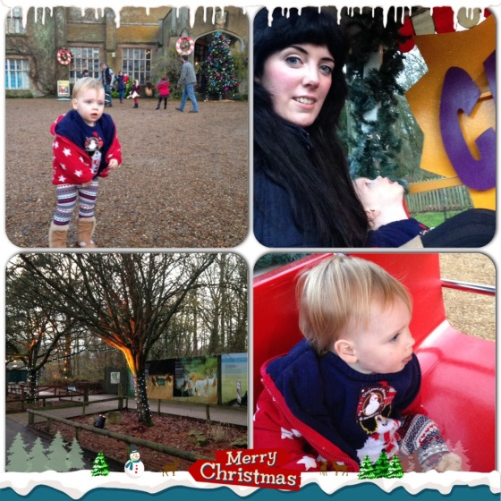 Christmas Train Ride at Marwell