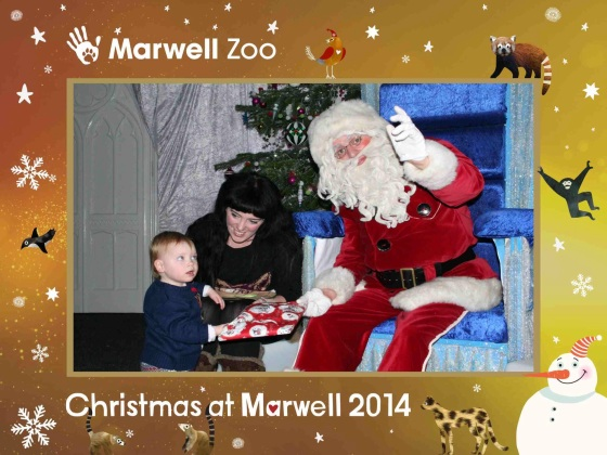 Father Christmas at Marwell