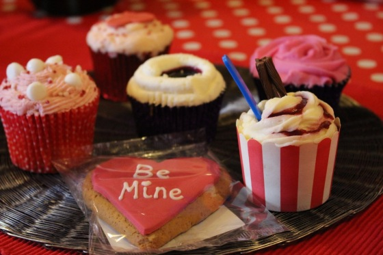 Valentines Cakes from Waitrose