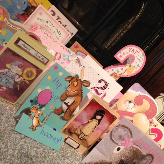 2nd Birthday Cards