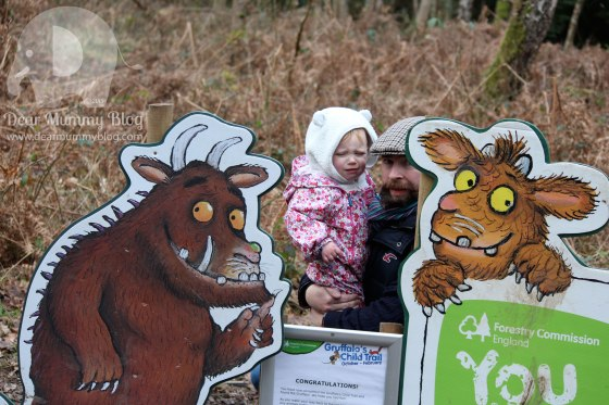 The Gruffalo at Alice Holt
