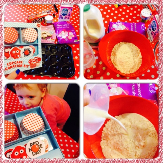 Red Nose Day Baking