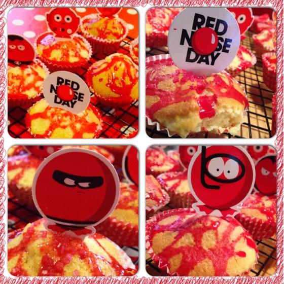 Comic Relief Red Nose Day Cakes