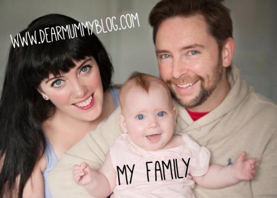 My family Dear Mummy Blog