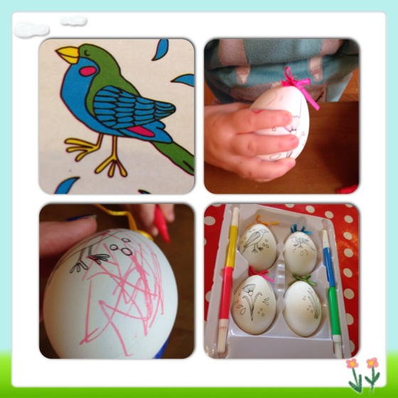 Easter Egg Crafts at TIGER