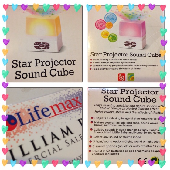 LifeMax Star Projection Cube