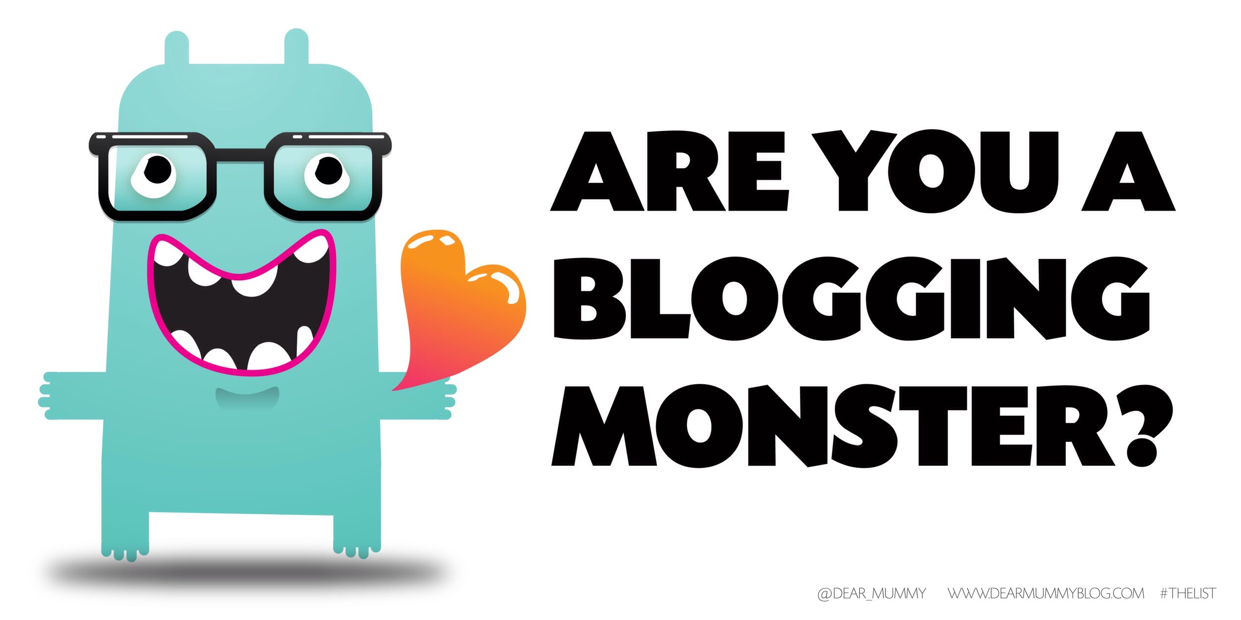 Are you a blogging monster?