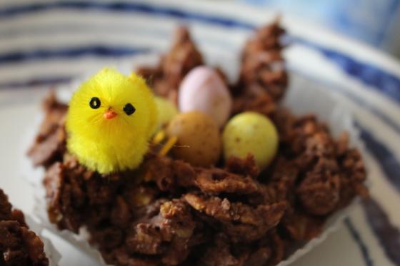 Chocolate Easter Egg baskets