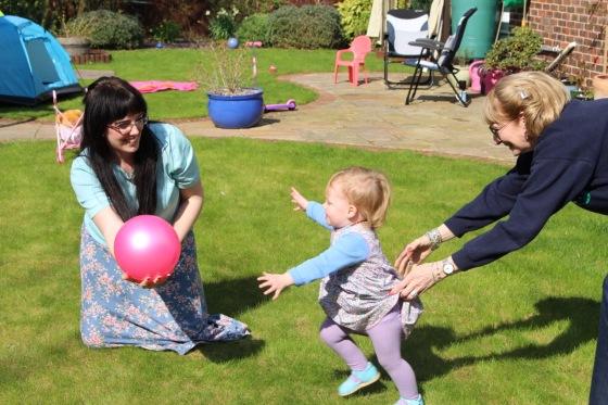 Easter at Grandparents