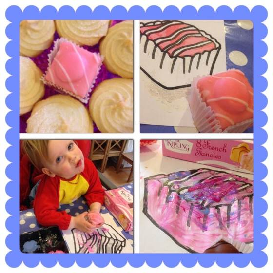 Mr Kipling's French Fancies artwork