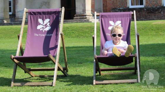 Baby Isabella at The Vyne