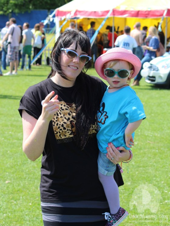 Dear Mummy Blog at Funk the Family Festival