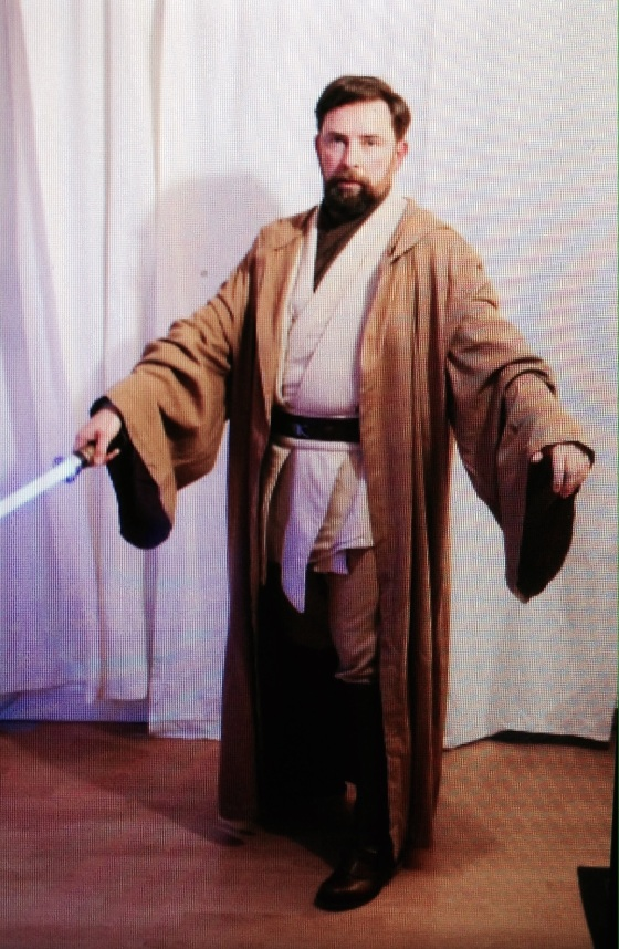 Daddy as Obi Wan
