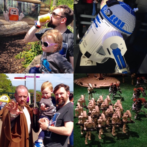 Lego Star Wars Event at Legoland