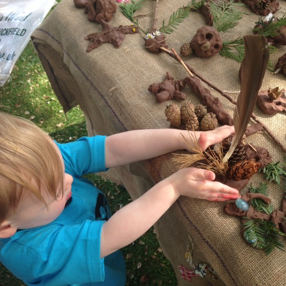 Lucy's Little Forest School at Funk the Family