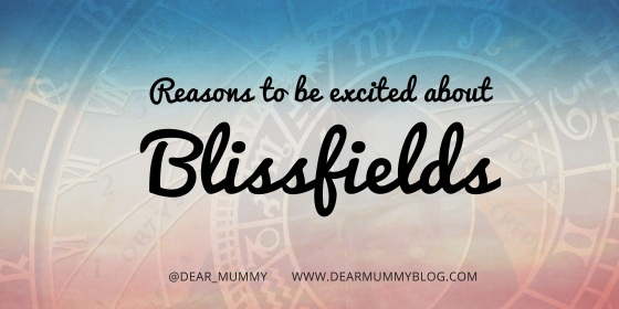 Excited about Blissfields