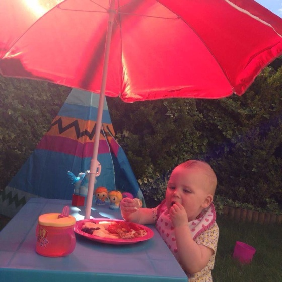 Survive a heatwave with a toddler