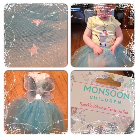 Monsoon Sparkly Princess Dress-up