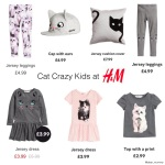 Crazy Cat Kids at H&M