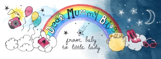 Dear mummy blog design