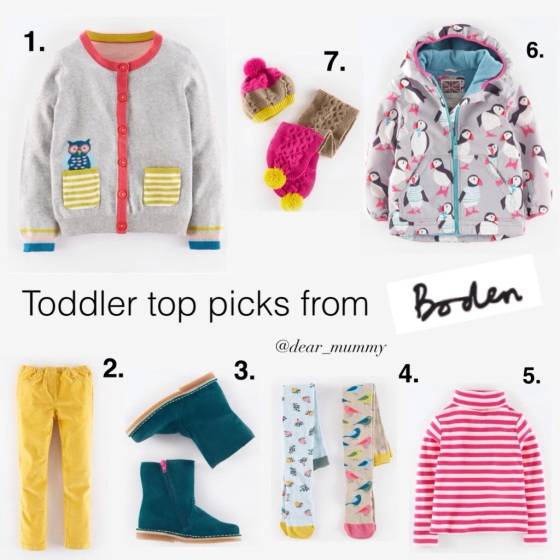 Boden A/W 2015 Toddlers