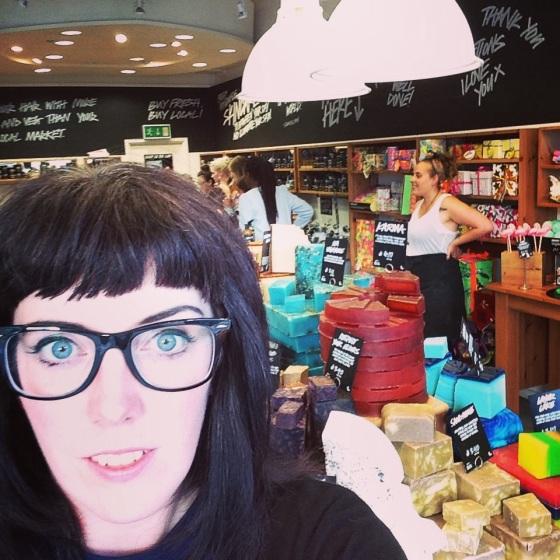 Lush Southampton Bloggers Event