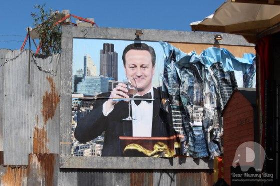 Dismaland David Cameron