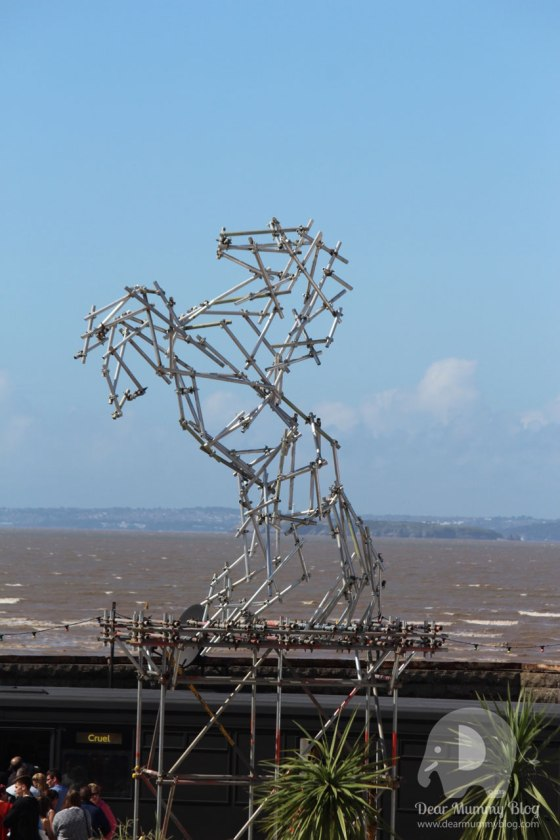 Ben Long Scaffolding Stallion at Dismaland