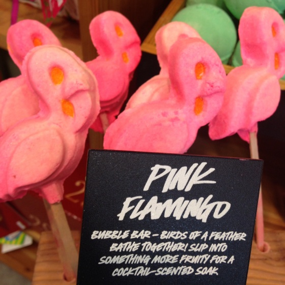 Pink Flamingo LUSH