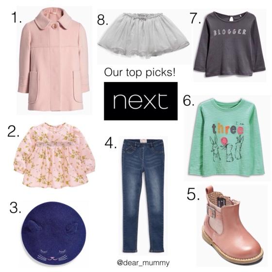 Childrenswear at NEXT AW15