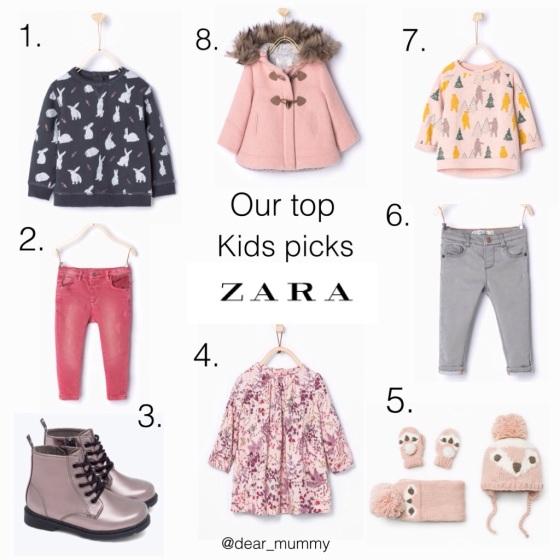 Zara Kids Baby/Toddler Girls
