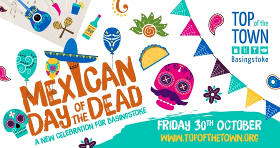Mexican Day of the Dead in Basingstoke ©TopofTownBasingstoke