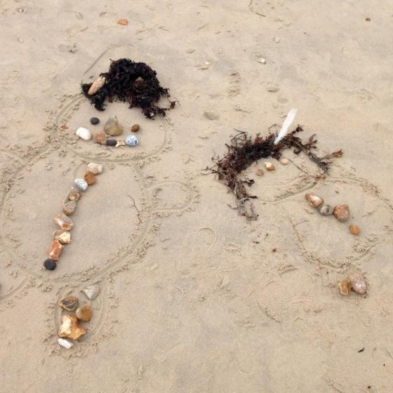 Bella at Hayling Island Beach