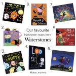 Halloween Books from Waterstones