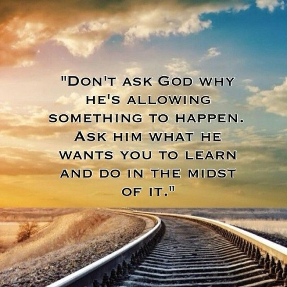 Don't Ask God Quote