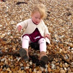 Bella at Hayling Island Beach