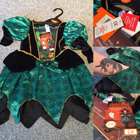 Sainsbury's Witches Costume